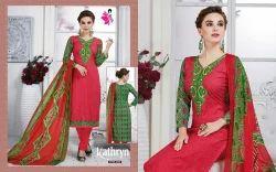 Casual Wear Printed Salwar Suits
