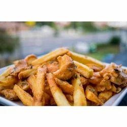 Butter Chicken Fries