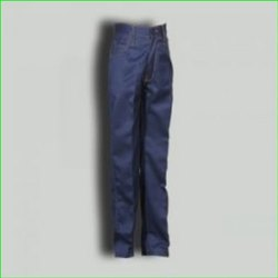 Blue School Boys Elastic Trouser