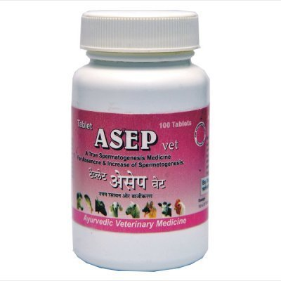 Ayurvedic Veterinary Products - Asep Tablet