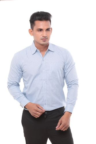 Cotton Casual Twist Mens Semi Formal Shirts Size S To 4xl Rs 265