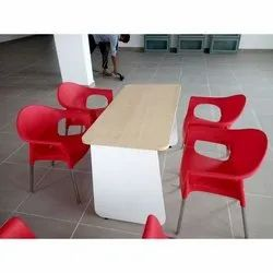Modular Cafeteria Table With Chair