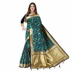 1530 Jacquard Silk Saree