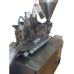 Double Head Linear Tube Filling Machine