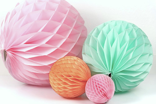 Paper Honeycomb Ball at Rs 15/piece | Surat| ID: 16246527230