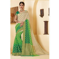 Women's Beautiful Cotton Silk Saree