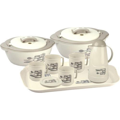 Plastic Insulated Hot Pot Casserole Set