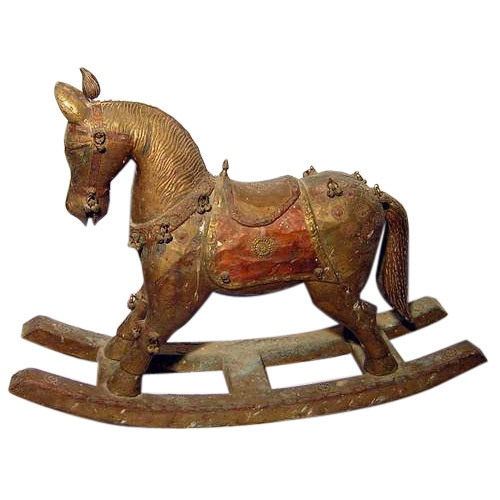 Wooden Horse Sculpture At Rs 1200 Piece