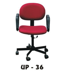 Low Back Red Office Chair