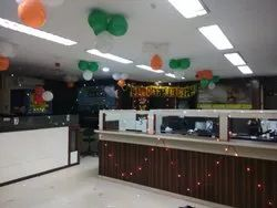 Corporate/Office Interior Designing Office Decoration, Work Provided: Wall Paper/Paint Work