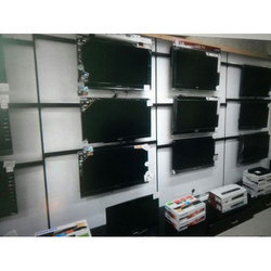 Wall Mounted LED TV Showroom Rack