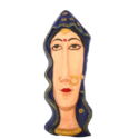 FRP Rajasthani Lady Face Wall Hanging