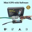 Black Personal Tracker With Gps Tracking System