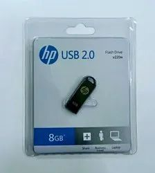 HP Metal Pen Drive 8GB New