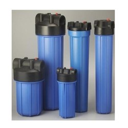 Blue PP FILTER HOUSING, for Liquid Filtration, Size: 10' 20'