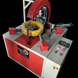 Horizontal Coil Wrapping Machine, Model Name/Number: SOM-01-CWMH500, Automatic Grade: Automatic