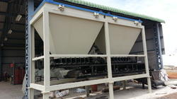Two Bin Batching Plant only for Fly ash & Concrete Bricks Machine