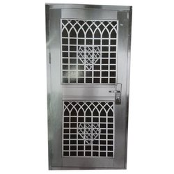 Hinged Decorative Stainless Steel Safety Gate