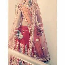 Raw Silk Wedding Wear Bridal Designer Lehenga Choli