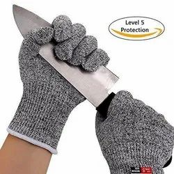 Mix Stainless Steel Mesh Cut Resistant Gloves, Model Name/Number: New