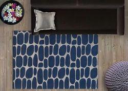 Blue & Grey WovenDreams Designer Rugs, Size: 4 feet x 6 feet