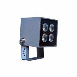 FortuneArrt 4 Watt LED Facade Light, Shape: Square