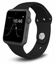 Rectangular Black LED Bluetooth Smart Digital Wrist Watch
