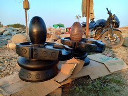 Unique Black Narmada Shivling
