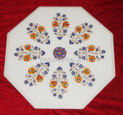 Marble Inlay Top Table