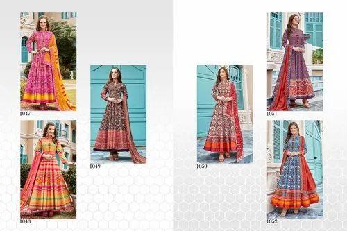 Virasat Presents New Silk Gown