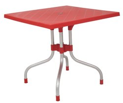 Cafeteria Table With Folding Stand