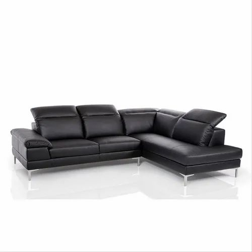 Leather L Shaped Sofa