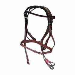 Plain Leather Horse Bridle