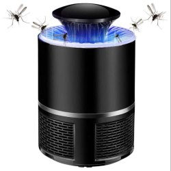 365 Black Mosquito killer Lamp with USB