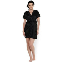 Ladies Black Night Gown