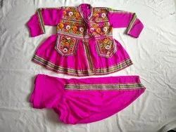 Navratri Special Kids Kediya - Traditional Garba Dance Costume