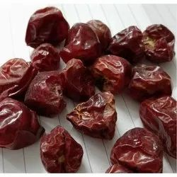 Dried Round Red Chilli, Without Stem