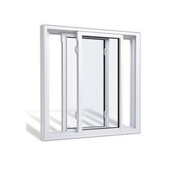 Aluminium Double Track Window