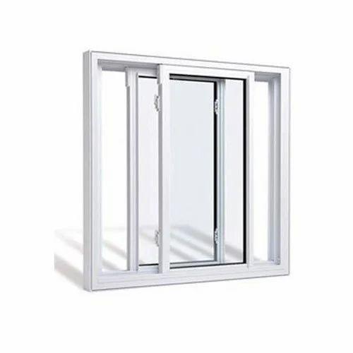 Aluminium Double Track Window