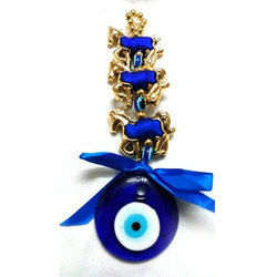Feng Shui Evil Eye Hanging for Protection with Horse