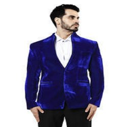 Casual Party Wear Valvet Blazer For Men