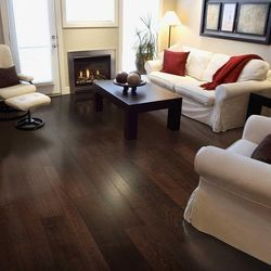 Oak Carbonized Dark Flooring