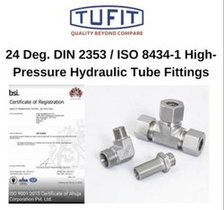 Tufit Adjustable locknut Branch Tee Coupling