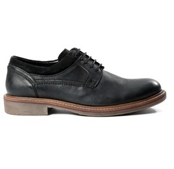 Men's Black Leather Casual Plus Formal Fashion Dress Shoes