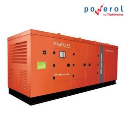 Silent Diesel Genset- 400-500-625 Kva- Mahindra Powerol