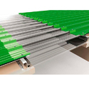 Embossed Polycarbonate Sky Light Roofing Sheets