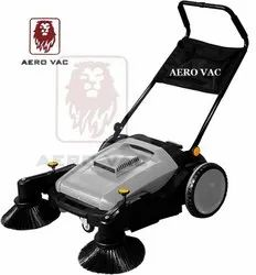 Manual Sweeper Double Broom