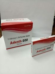 Adenth S-Adenosyl L-Methionine 200 mg Tablets, Packaging Size: 10*1*10