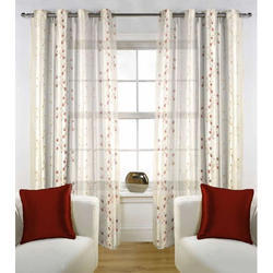 Printed PC Door Curtains, Size: 7ft