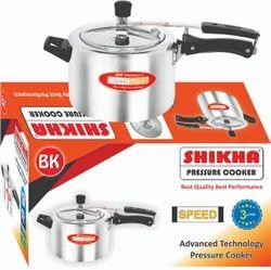 Shikha Inner Lid 3 Liter Aluminum Pressure Cooker, For Home, Packaging Type: Box